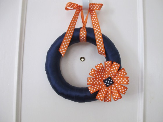 AU Ribbon Wreath